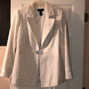 Lane Bryant Blazer with Diamond Clasp